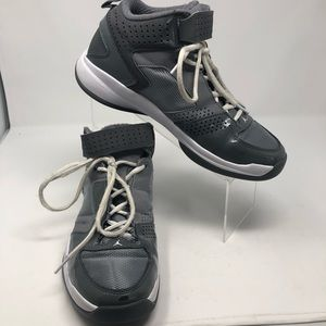 2012 Air Jordan Basketball Shoes Gray White Men 8